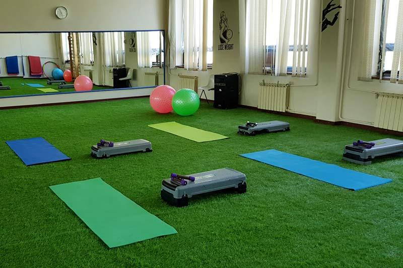 aerobics  hall
