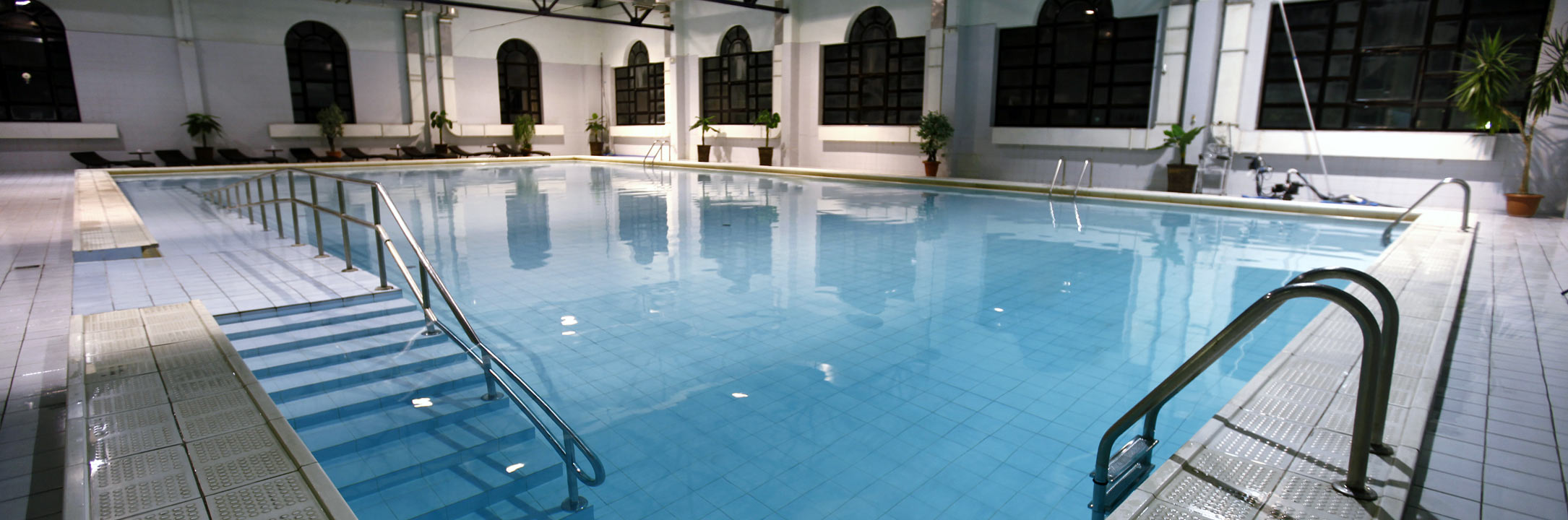 Indoor Pool Cross